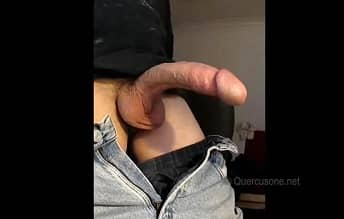 Quercusone Showing His Huge Cock On Webcam