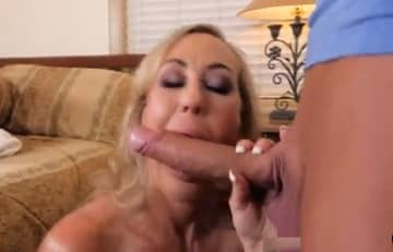 Mature Brandi Love Wants Young Monster Cock